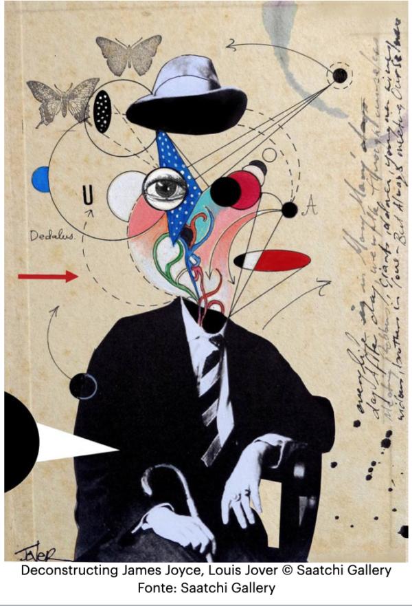 Deconstructing-James-Joyce-Louis-Jover-Saatchi-Gallery